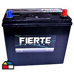 Batería libre mantención 45 a 12v positivo derecho delgado