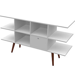 Rack de TV 136x40x77,5cm Blanco