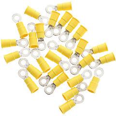 Terminal ojo 5,1 mm 10-12 awg amarillo