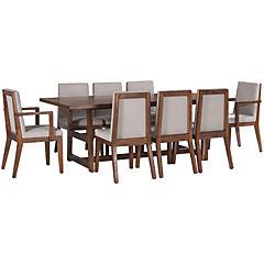 Juego Comedor 220x110x80 cm 6 sillas/2 sitial