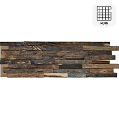 Revestimiento madera rustico 20x60 0,12m