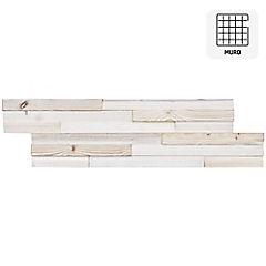 Revestimiento madera albayalde 18x60 0,11m