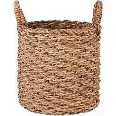 Canasto cilindro fibra 25x25x25 cm Natural