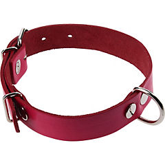 Collar de suela de 50x2,5 cm color fucsia