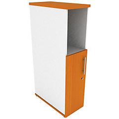 Mini locker media puerta izquierdo peral