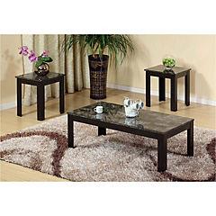Set 3 Mesas  1 mesa centro y 2 mesas laterales