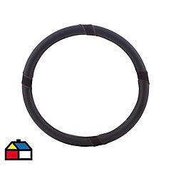 Cubre volante negro/rojo