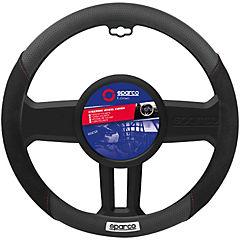 Cubre volante negro/azul