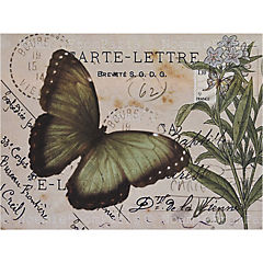 Set de individuales de papel 24 piezas, diseño Mariposas 3