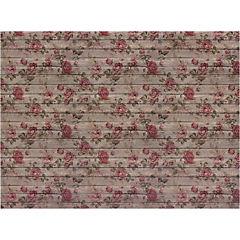 Set de individuales de papel 24 piezas, diseño Flores 5