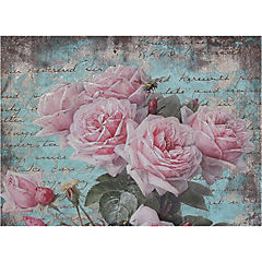 Set de individuales de papel 24 piezas, diseño Flores 7
