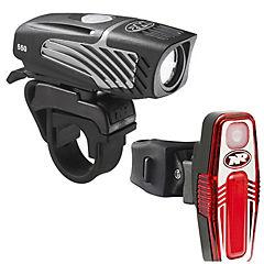 Luz bicicleta lumina micro 550 y sabre 80
