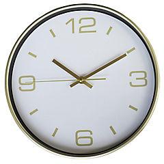 Reloj mural decorativo plata/dorado