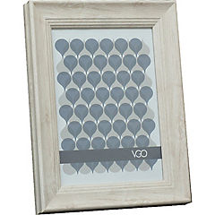 Marco ancho simil madera 10x15 cm beige