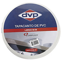 21mm 50m Tapacanto PVC blanco
