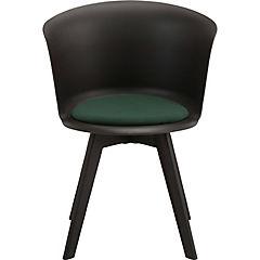 Set 2 silla 53x54,5x74,5 cm plástica Celeste