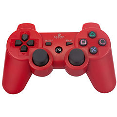 Joystick bluetooth rojo playstation 3