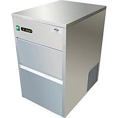 Fabricadora de hielo industrial 26 kilos gris