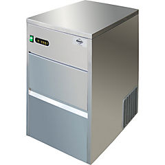 Fabricadora de hielo industrial 50 kilos gris