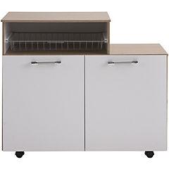 Mueble para cocina con cesto 500 92x80x38 cm