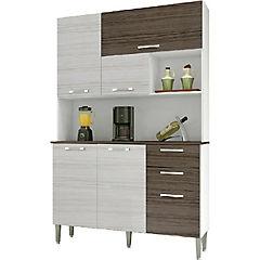 Kit mueble para cocina 191x122x38 cm