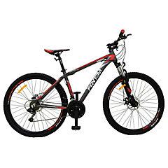 Bicicleta 27,5 MTB Disco negro/celeste