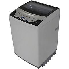 Lavadora carga superior 16 kg gris