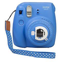 Cámara instantanea instax mini 9 azul