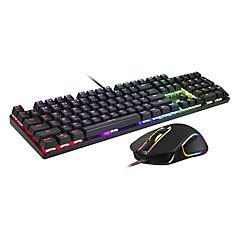 Combo teclado mecánico + mouse ck888 rgb