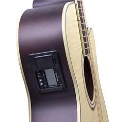 Guitarra electroacústica mate