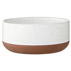 Bowl blanco terracota 18 cm