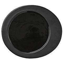 Plato 20 cm cerámica gris