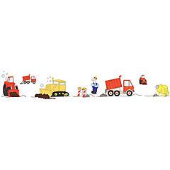 Sticker construcción infantil 22x33 cm