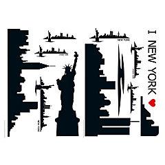 Sticker horizonte New York 47x68 cm