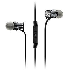 Audífonos in-ear negro/plata