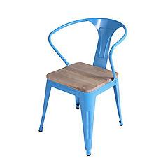Silla 79x46x52 cm azul