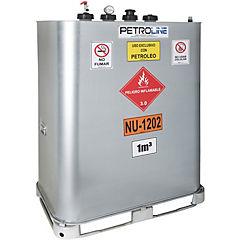Estanque combustible vet diesel gravedad 1.000 lts.