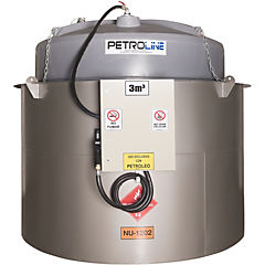 Estanque combustible isla tank diesel 3.000 lts./220 v
