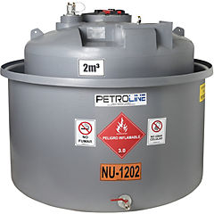 Estanque combustible gravitank diesel 2.000 lts.