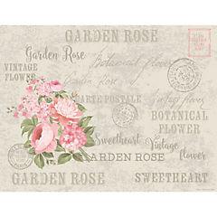 Set de 50 individuales de papel garden rose 43x33 cm