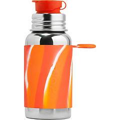 Botella acero inoxidable sport acero inoxidable 550 cc tonos naranjos