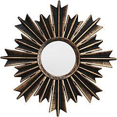 Set 3 espejos gold sun 25x25 cm