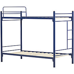 Camarote metal alfa 1 plaza azul