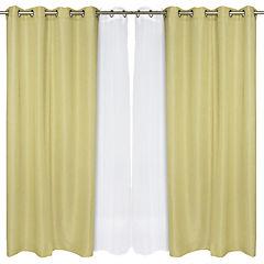 Set cortina 140x220 cm 4 piezas