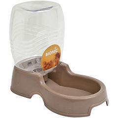 Dispensador de agua para gatos y perros ,beige,946 ml