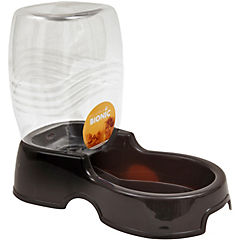 Dispensador de agua para gatos y perros ,negro,946 ml