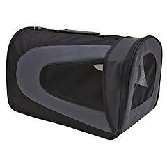 Bolso de transporte para perros y gatos ,negro, M