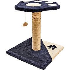 Rascador para gatos con plataformas azul