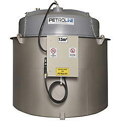 Estanque combustible isla tank diesel 7.500 lts./220 v