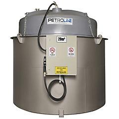 Estanque combustible isla tank diesel 20.000 lts./220 v